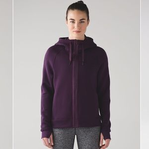 Women's Lululemon Rare Kick Cold Hoodie : Purple